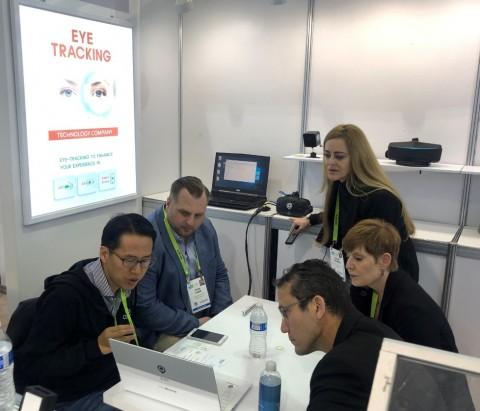 비주얼캠프, CES 2019에서 모바일 아이트래킹 모듈 최초 공개