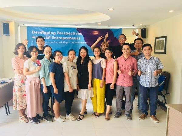 언더독스, 베트남 사회적기업가를 위한 현지워크숍 진행